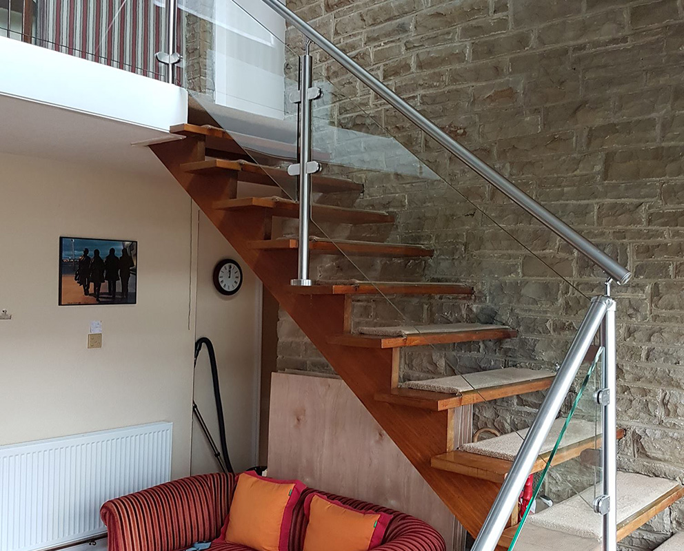 Glass Staircase Leeds